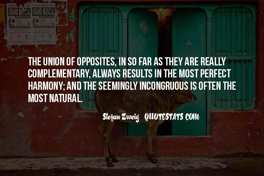 Perfect Opposites Quotes #672901