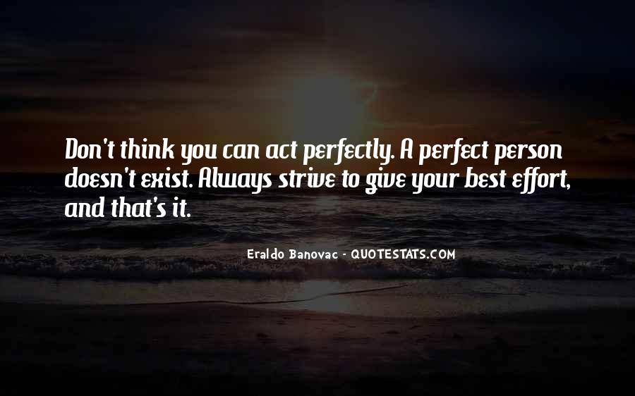 Perfection Doesn Exist Quotes #303377