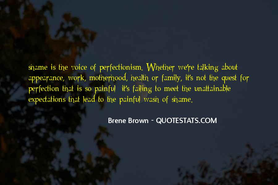 Perfection Unattainable Quotes #1441503