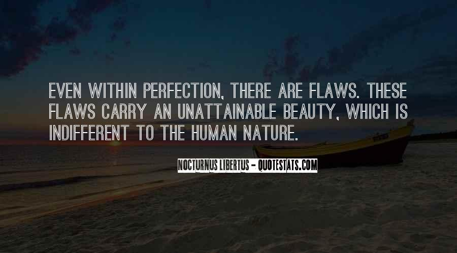 Perfection Unattainable Quotes #552120