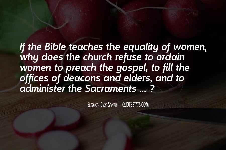 Quotes About Bible Sacraments #1339885