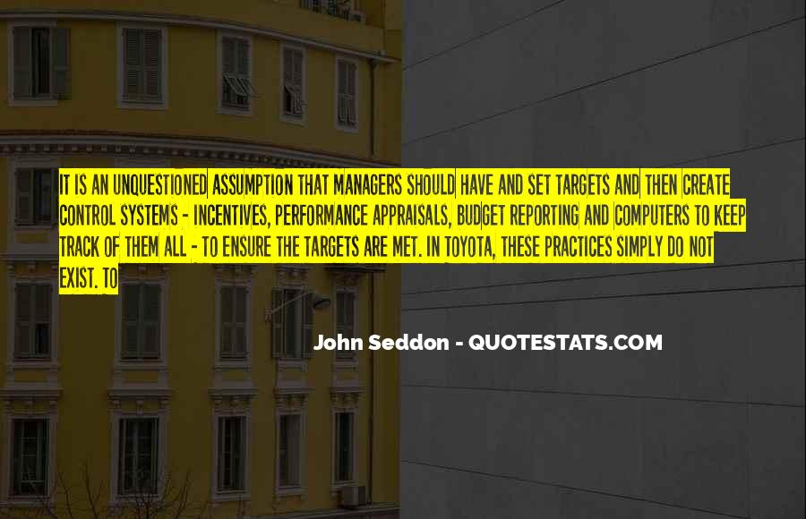 Performance Targets Quotes #953433