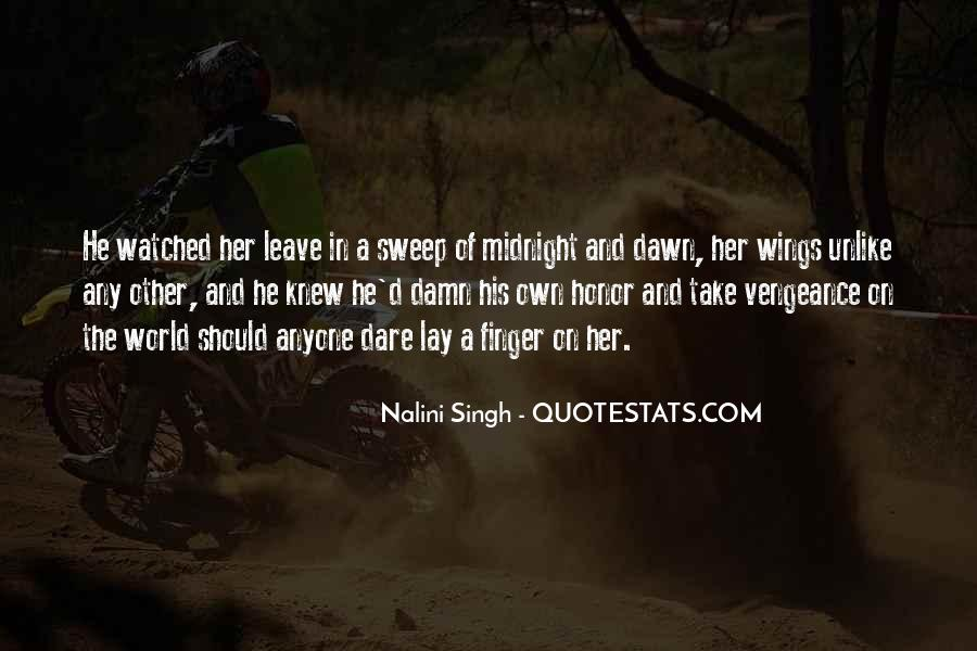 Quotes About Sweep #493822