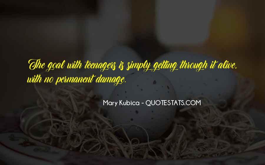 Permanent Damage Quotes #1447219