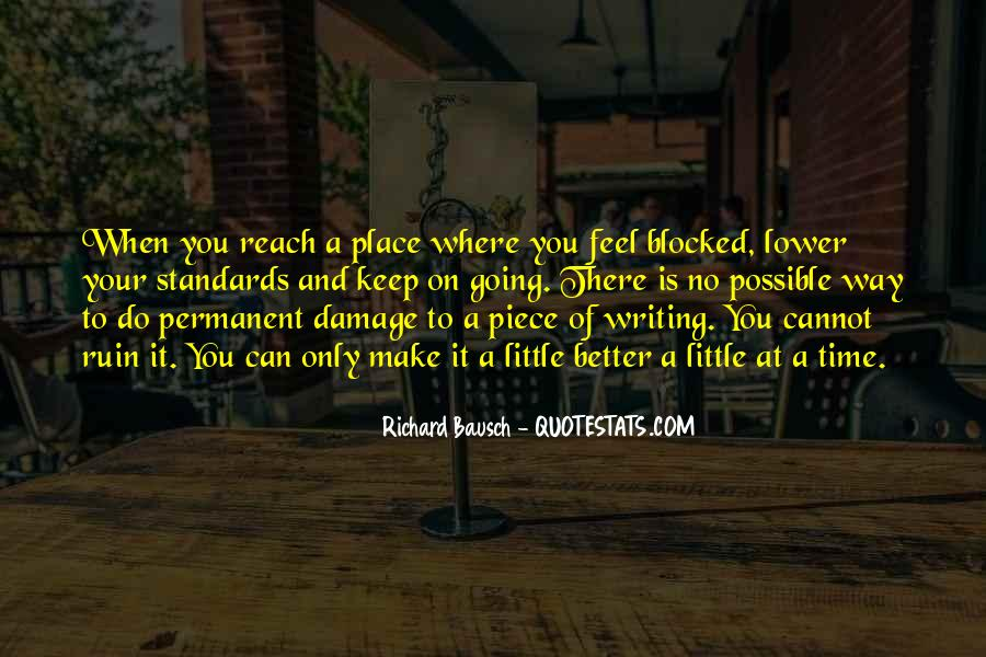 Permanent Damage Quotes #1536263