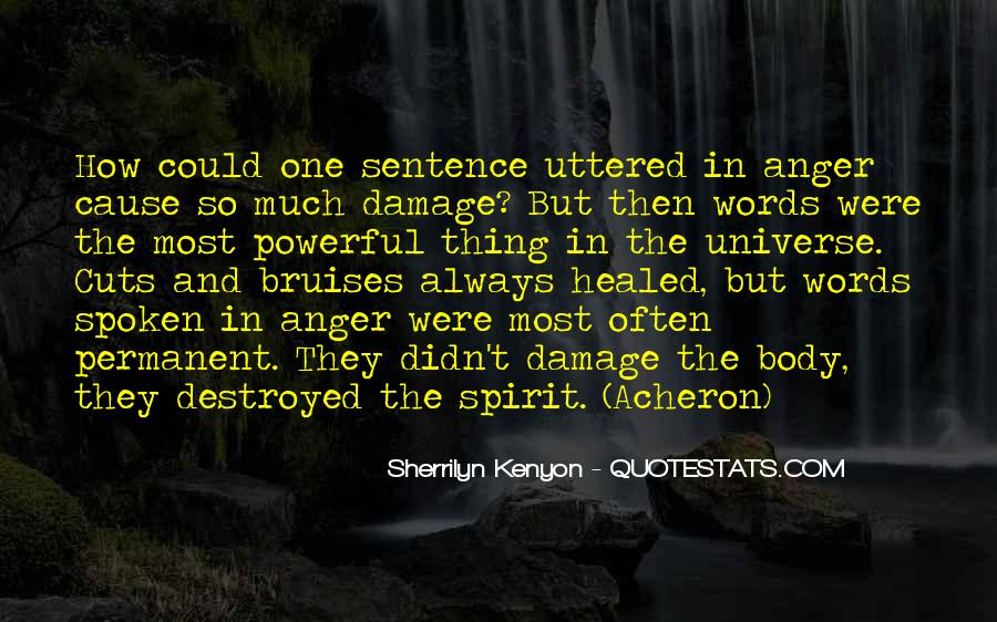 Permanent Damage Quotes #232111