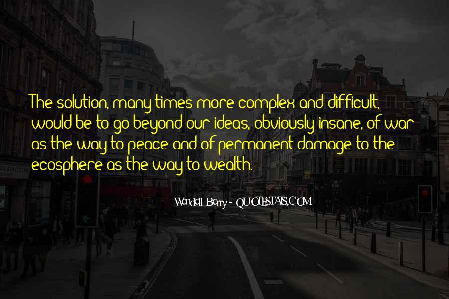 Permanent Damage Quotes #240843