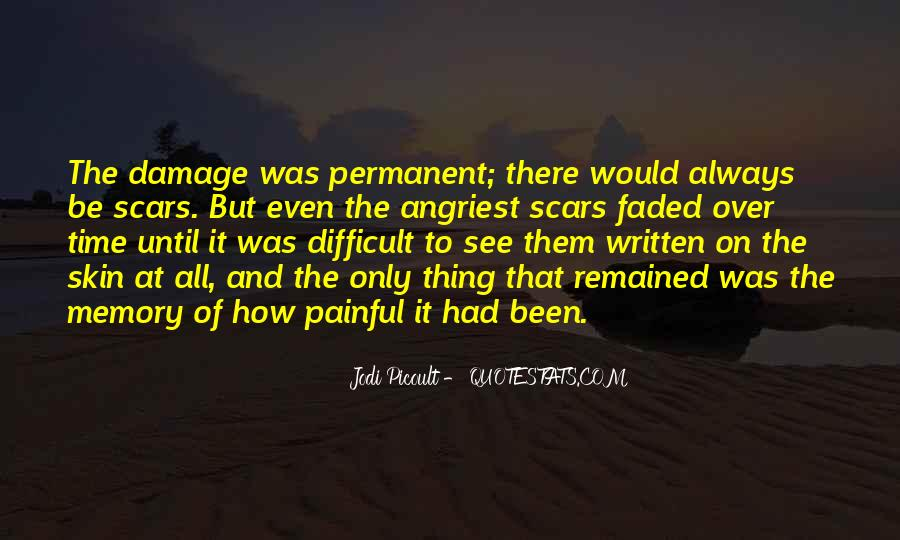 Permanent Damage Quotes #266525