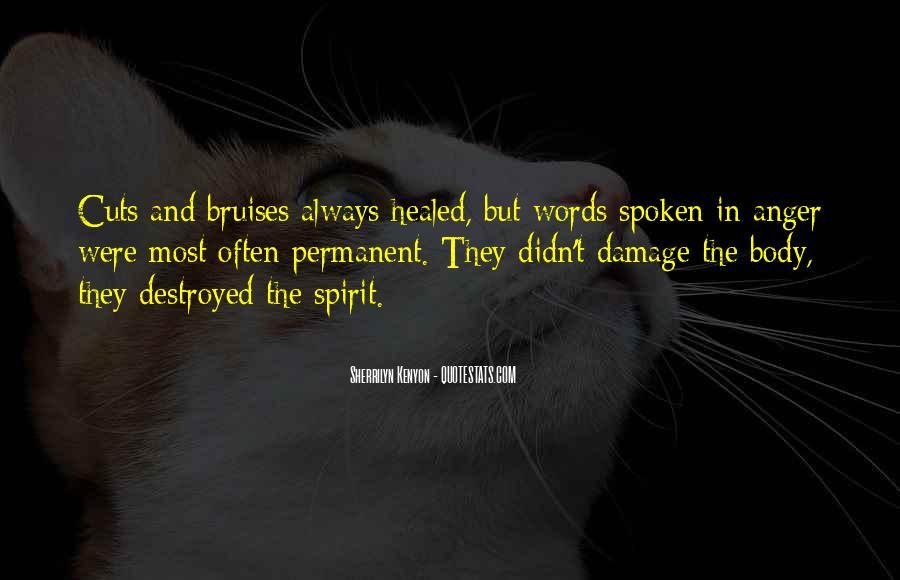 Permanent Damage Quotes #502327
