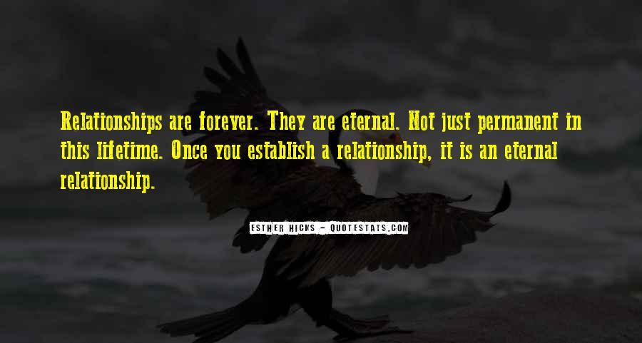 Permanent Relationship Quotes #1042055