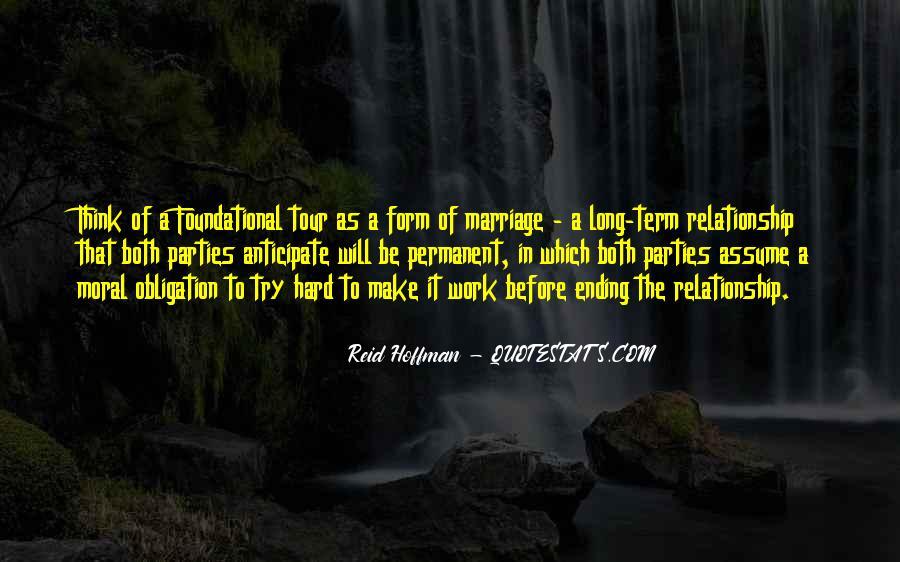 Permanent Relationship Quotes #1315381