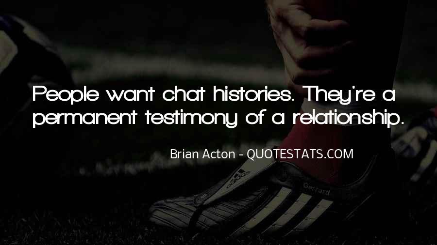Permanent Relationship Quotes #1543616