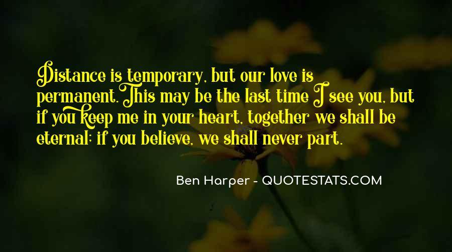 Permanent Relationship Quotes #1654171