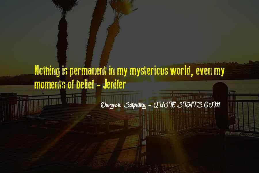 Permanent Relationship Quotes #505009