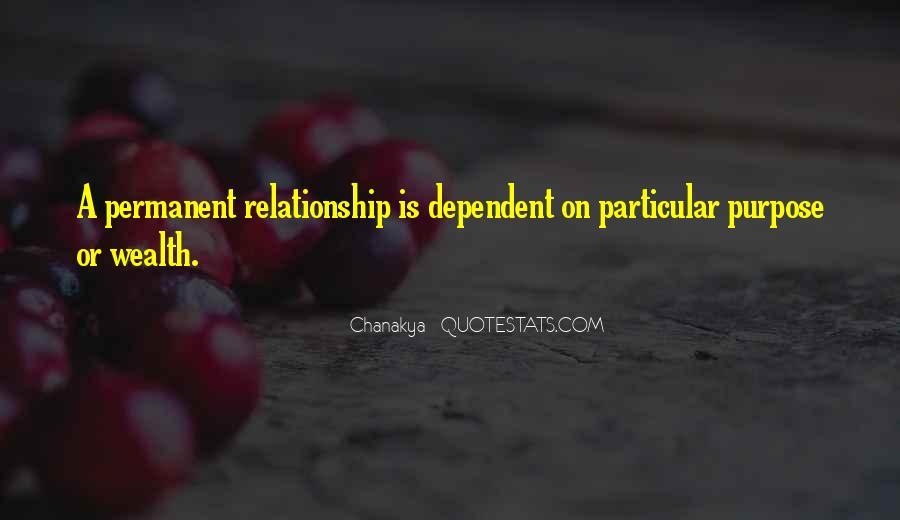 Permanent Relationship Quotes #617207