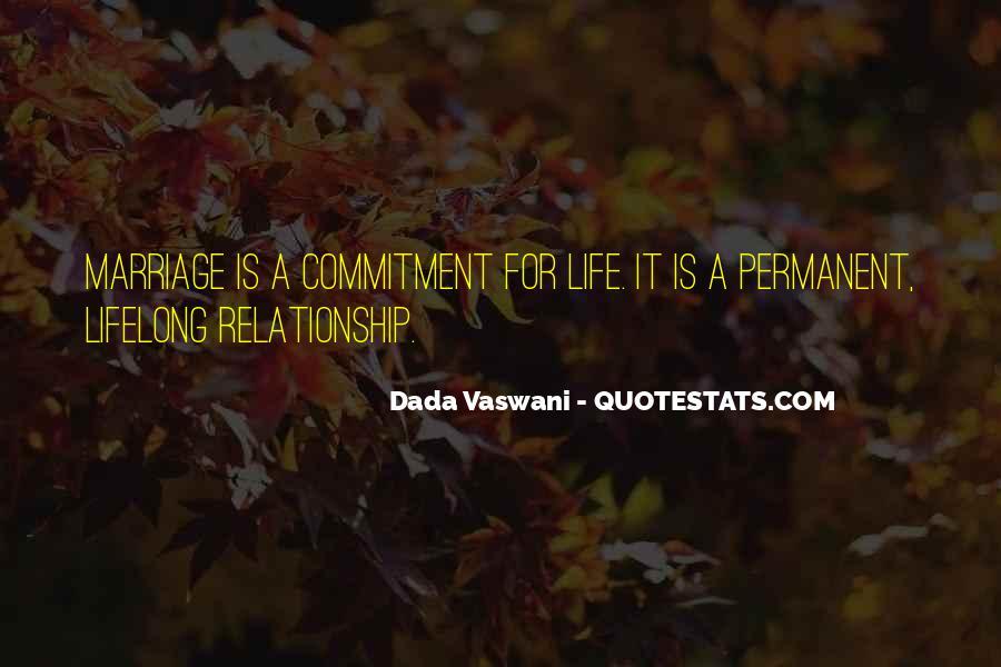 Permanent Relationship Quotes #903833