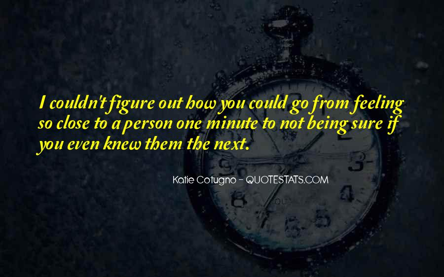 Person Next To You Quotes #199498