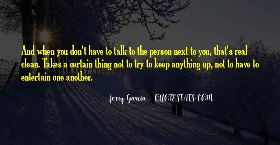 Person Next To You Quotes #544998