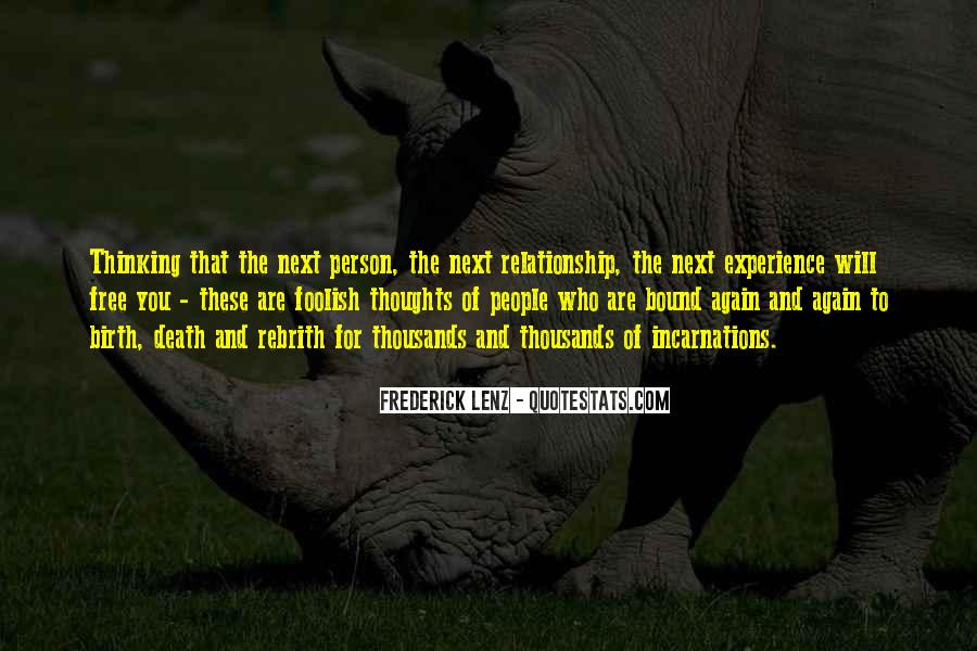 Person Next To You Quotes #790438