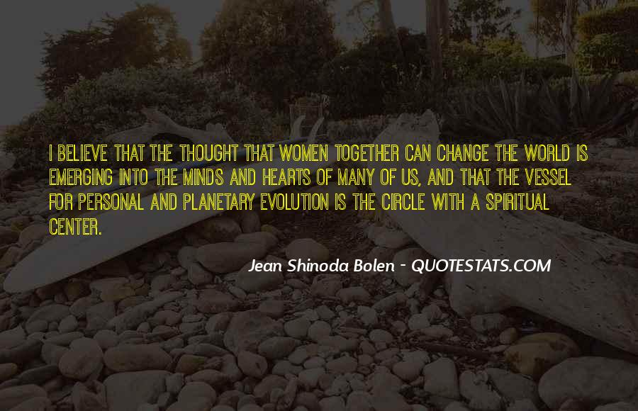 Personal Evolution Quotes #1258617