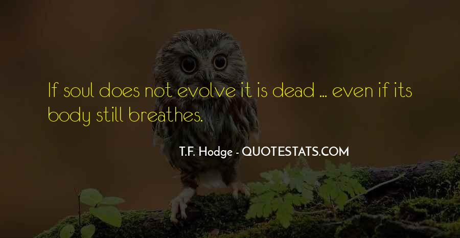 Personal Evolution Quotes #1363653