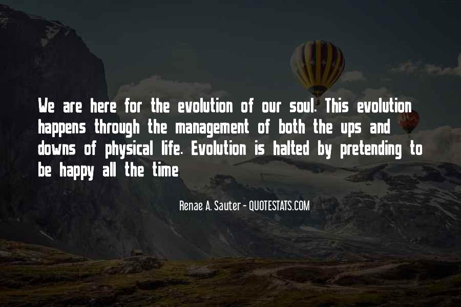 Personal Evolution Quotes #1370626