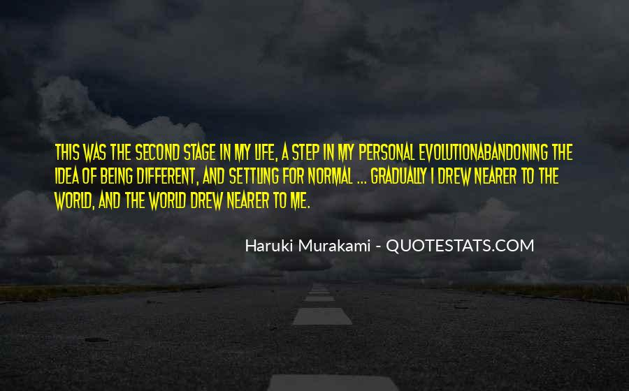 Personal Evolution Quotes #401821