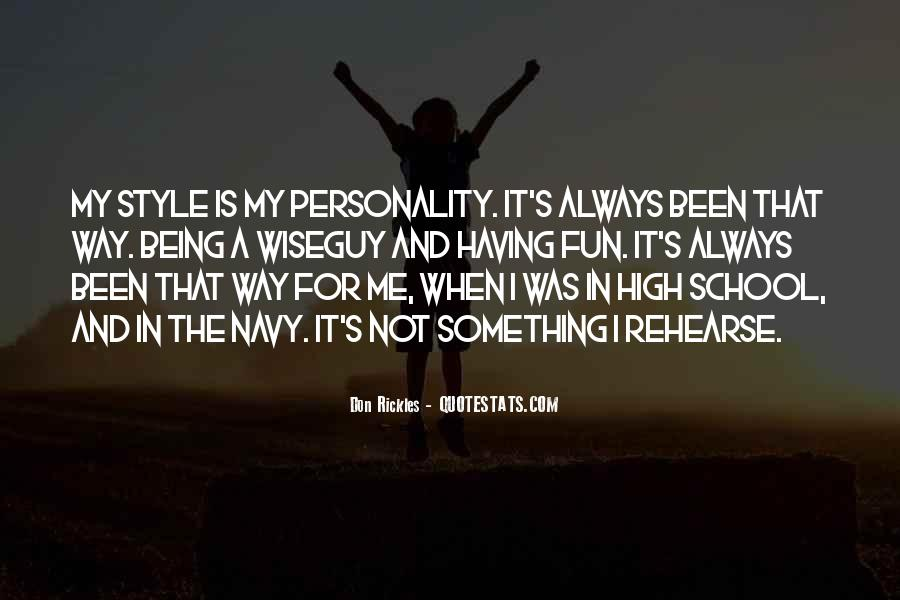 Personality And Quotes #102146
