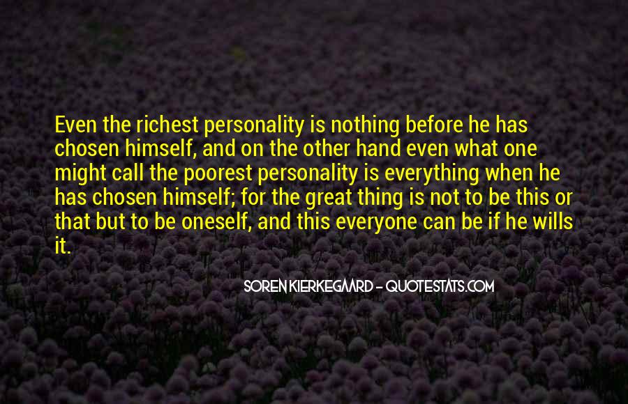 Personality And Quotes #12527