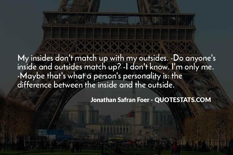 Personality And Quotes #41242