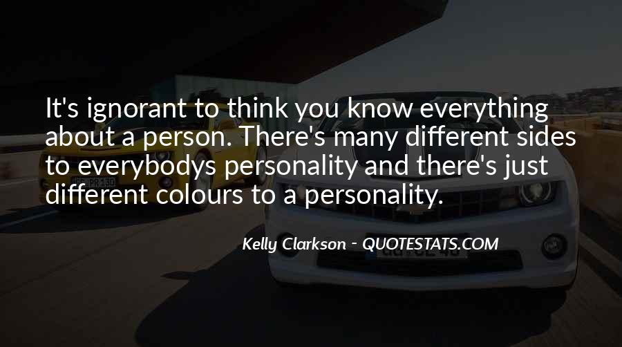 Personality And Quotes #82560