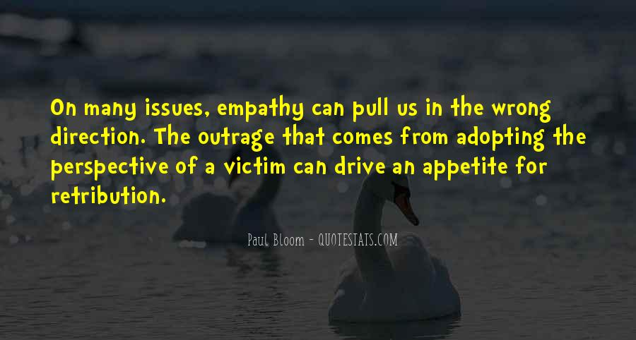 Perspective And Empathy Quotes #1070428