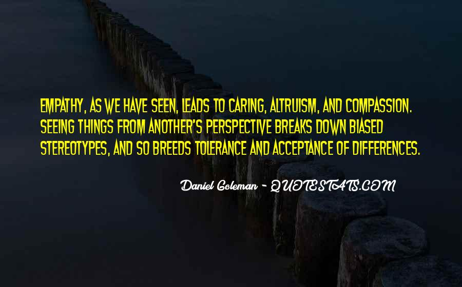 Perspective And Empathy Quotes #270608