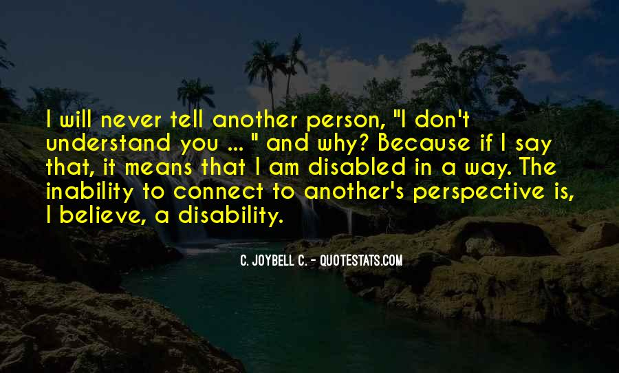 Perspective And Empathy Quotes #55174