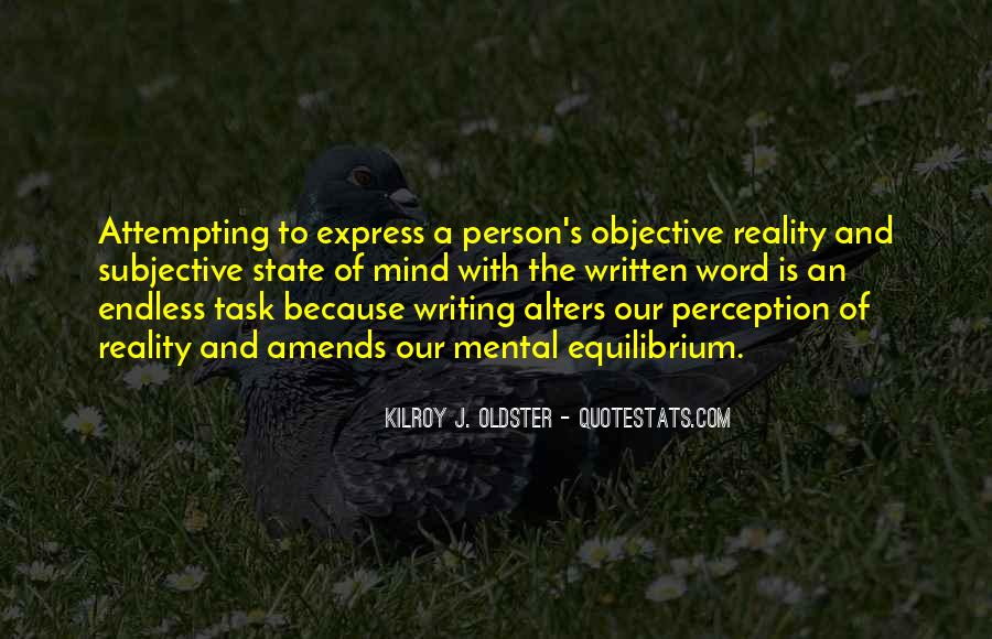 Perspective And Reality Quotes