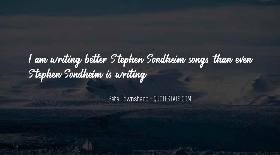 Pete Townshend Song Quotes #562291