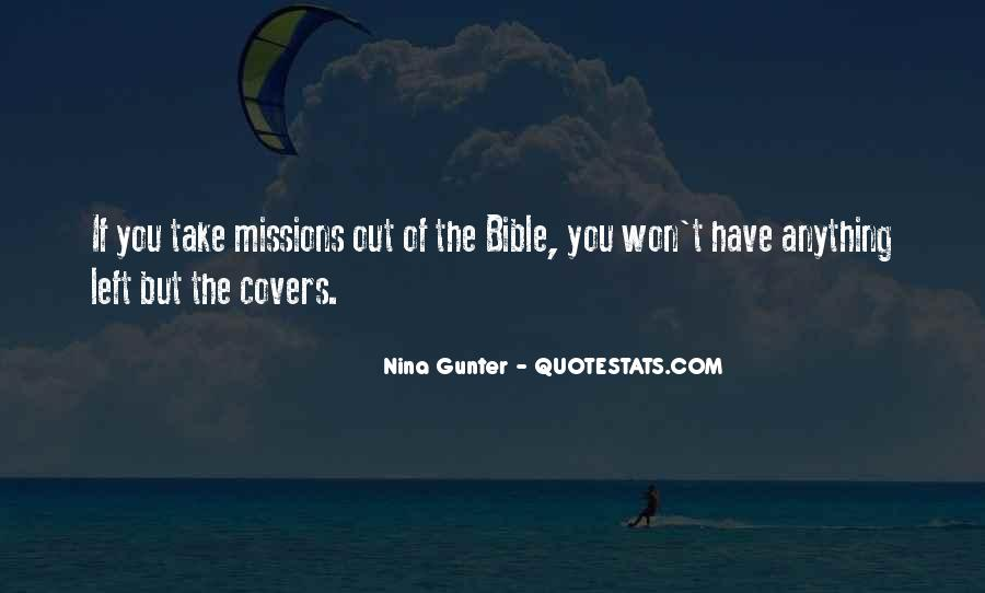 Quotes About Bible Missions #877358