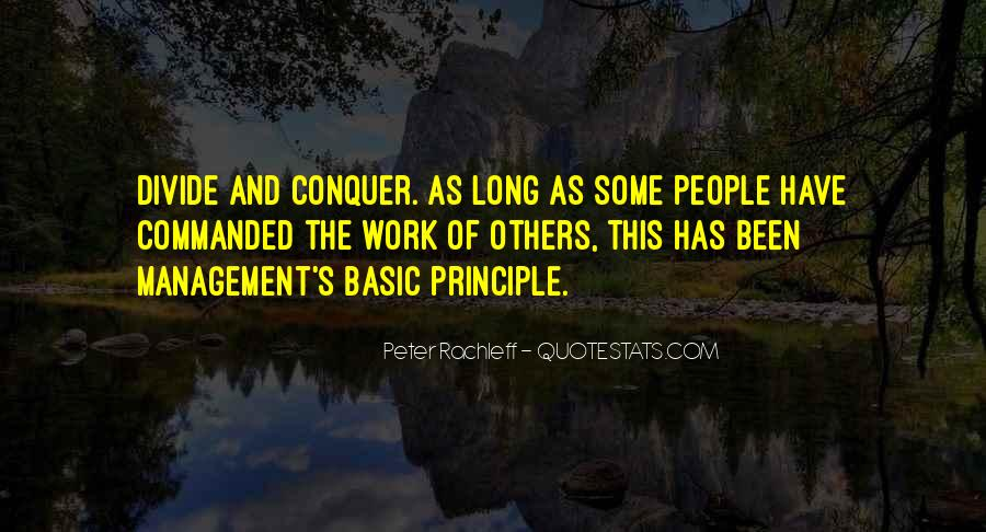 Peter Principle Quotes #1788119