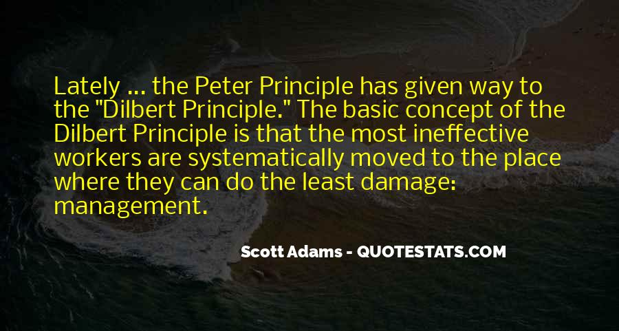Peter Principle Quotes #214269
