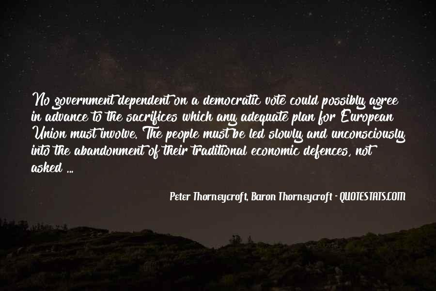Peter Thorneycroft Quotes #200238