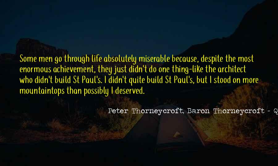 Peter Thorneycroft Quotes #661151