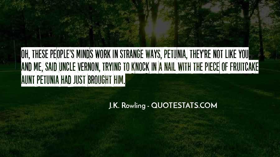 Petunia Quotes #1309663