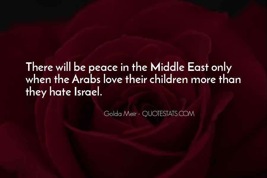 Quotes About Golda Meir #1107522