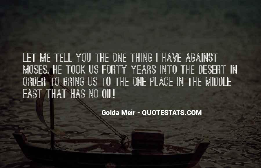 Quotes About Golda Meir #1327260