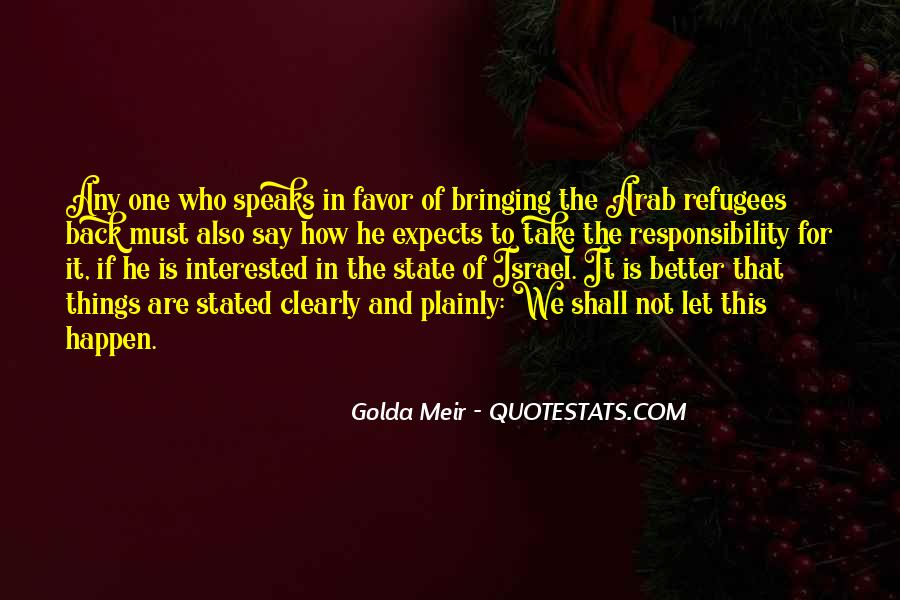Quotes About Golda Meir #240427