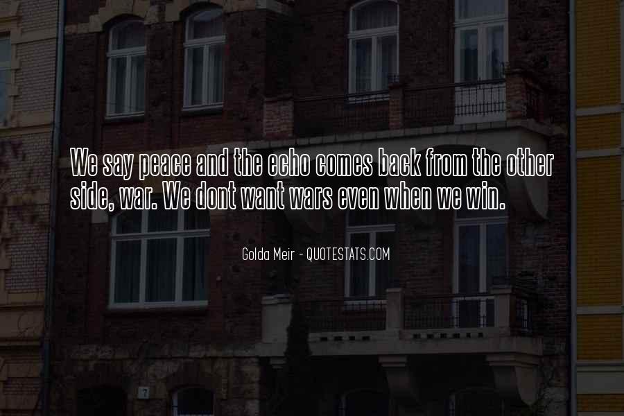 Quotes About Golda Meir #292738