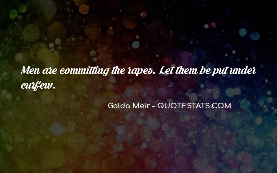Quotes About Golda Meir #477310