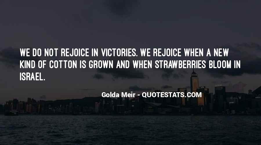 Quotes About Golda Meir #653112