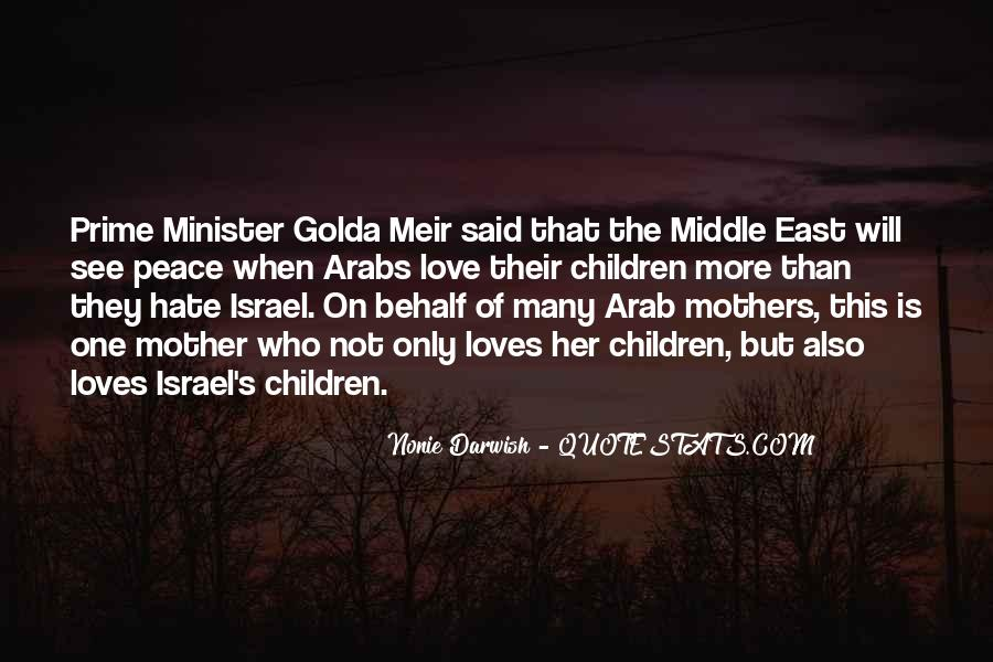 Quotes About Golda Meir #713768