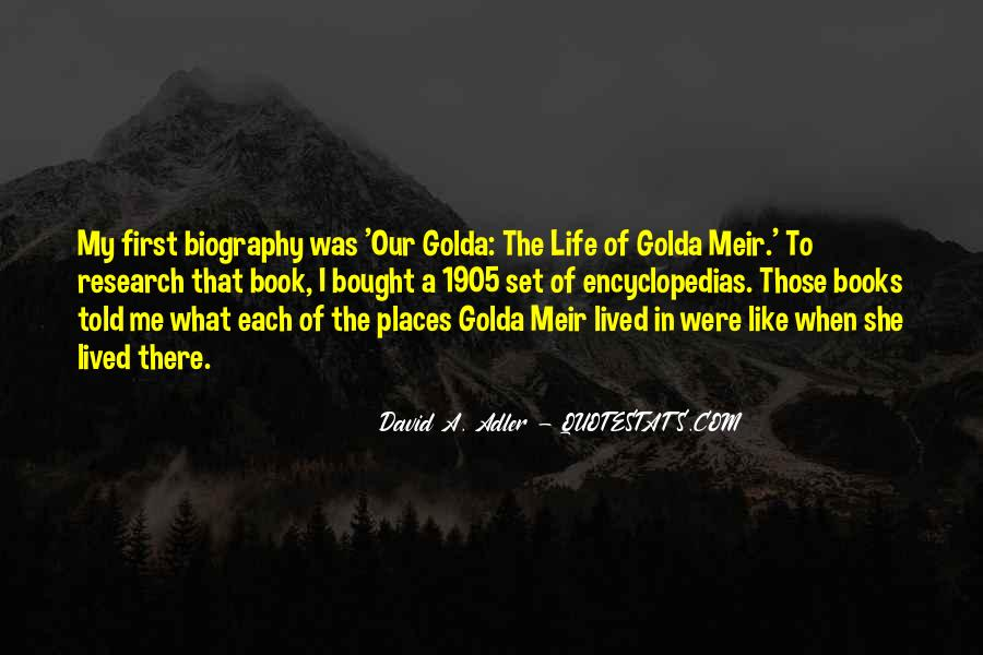 Quotes About Golda Meir #738187